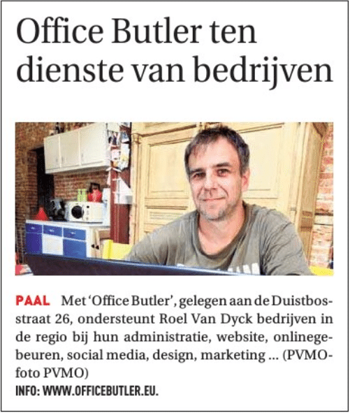 Office Butler Paal